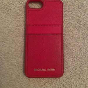 Michael Kors IPhone 7 Leather Phone Case